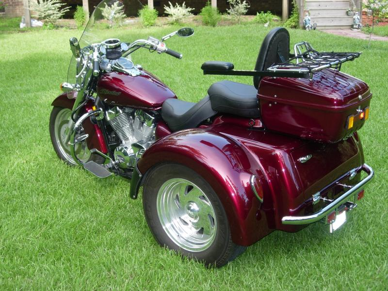 Honda Vt Bikes With Sidecar Trike And Specialities